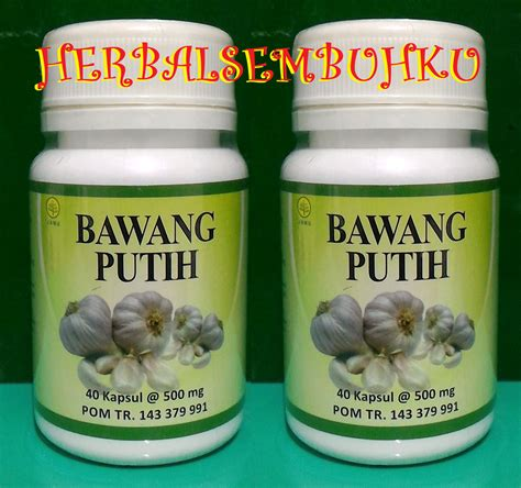 Obat Klinik Herbal Putih bawang putih penurun kolesterol tercepat 085755201000