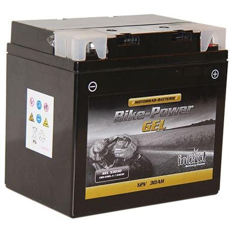 Motorrad Batterie Nach Abmessungen by Intact Bike Power Y60 N30l A Gel53030 Din 53030