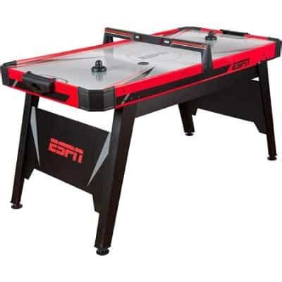 espn air hockey table espn 60 inch air powered hockey table 78 shipped reg