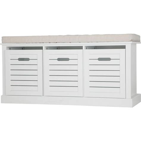 shoe bench argos buy home hereford storage bench white at argos co uk