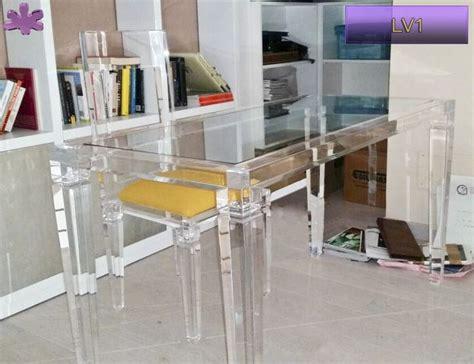 scrivania in plexiglass 18 best acrylic writing desks scrivanie in plexiglass