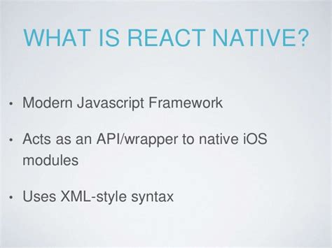 react native module tutorial react native introductory tutorial