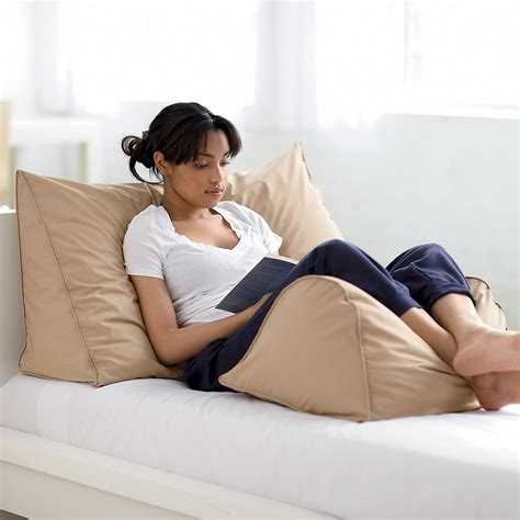 pillow for reading in bed firma el 95 de la pluma 5 abajo lectura almohadilla