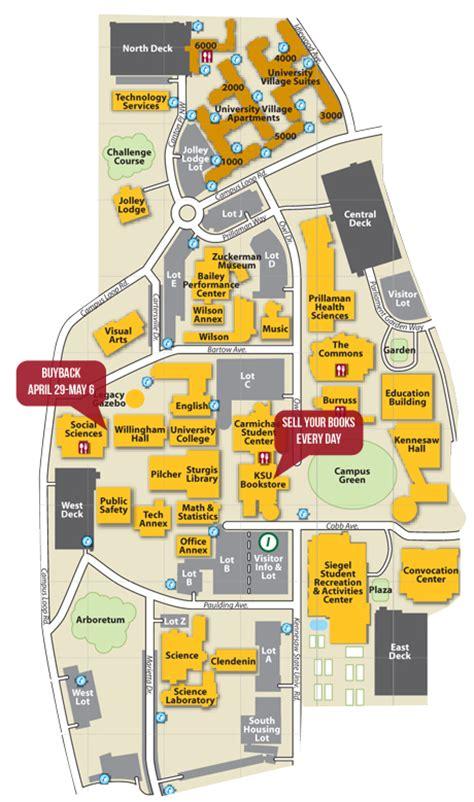 ksu map buyback ksu bookstore