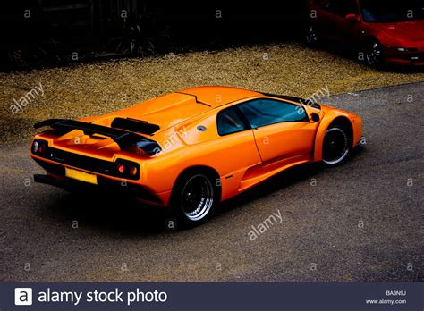 lamborghini diablo orange bright orange lamborghini diablo gt supercar rear three