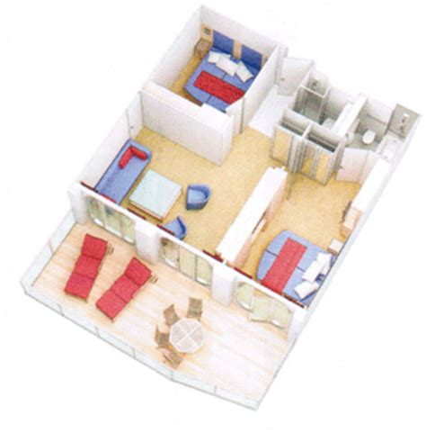 Master Bath Floor Plans No Tub Royal Family Suite Review On The Oasis Of The Seas And