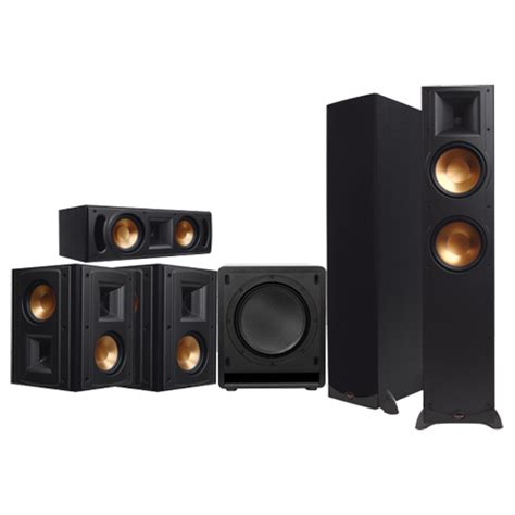 klipsch 5 1 channel home theatre system future shop