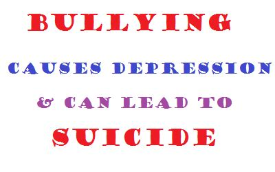 Bullying Causes by Bullying Causes Depression Paperblog