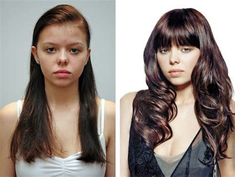 hair extensions before and after thin hair hot girls before and after photos hotstyle