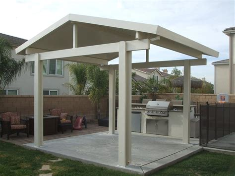 free standing patio cover designs alumawood patio cover free standing gable yelp
