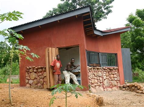 Kenya House Plans by Inhabitat Reader Builds Sustainable Homes In Ghana