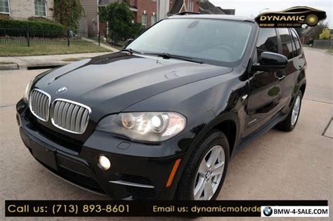Bmw X5 2011 For Sale by 2011 Bmw X5 35d For Sale In United States