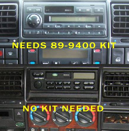 1997 land rover discovery headunit audio radio wiring