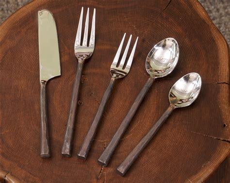 artistic flatware wrought iron silverware home design ideas hq