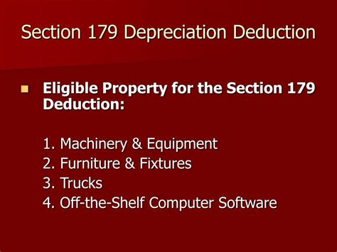 what is section 179 depreciation ppt how to organize your business and minimize your
