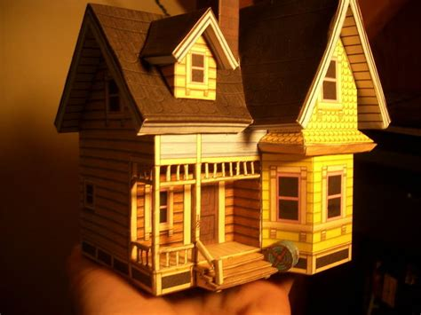 Up House Papercraft - up house angled by linkofcamalot on deviantart