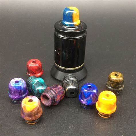 Jmk Tips Spesial Order wholesale jmk hat shape resin 510 drip tip supplier 2 30