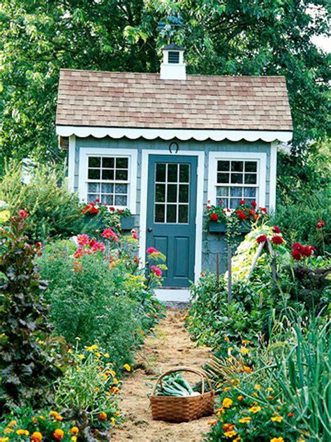 vintage farmhouse  garden shed