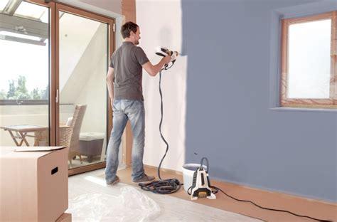 pintar techos con pistola pistolas de pintura para paredes y techos construccion y