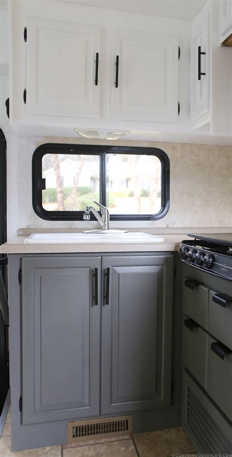 trailer kitchen cabinets the progress of our rv kitchen cabinets mountain modern life