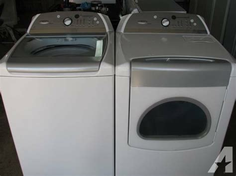 Whirlpools For Sale Whirlpool Cabrio Machine Dryer Set For Sale In