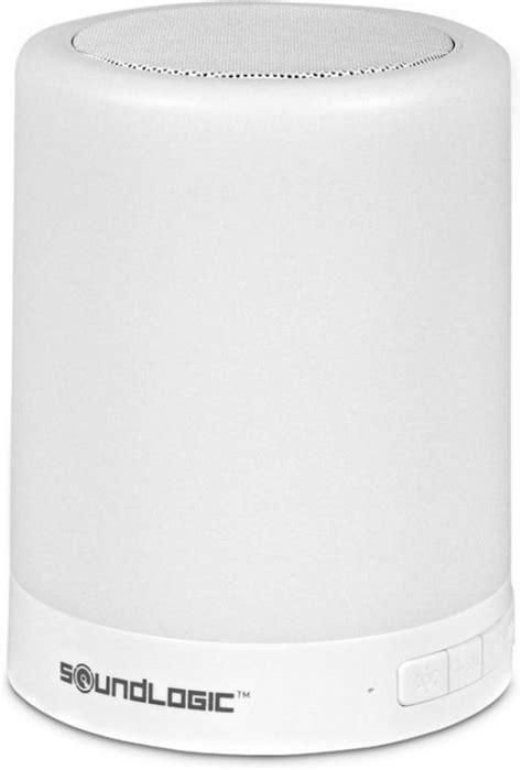 soundlogic light up bluetooth speaker soundlogic touchlight wireless led color changing