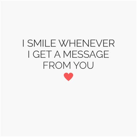 A Message From by In Your Poster Quot I Smile Whenever I Get A Message From
