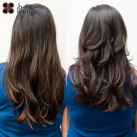 Stufenschnitt Lange Haare by Stufenschnitt Lange Haare Hinten Haarfein
