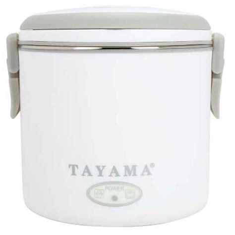 tayama electric lunch box in white ehb 05 the home