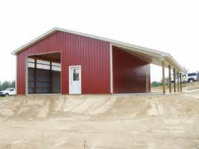 30 by 40 pole barn images of pole barn with lean to 30 x 40 x 12 wall