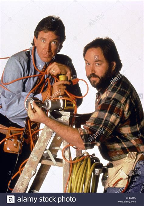 tim allen richard karn home improvement 1991 stock