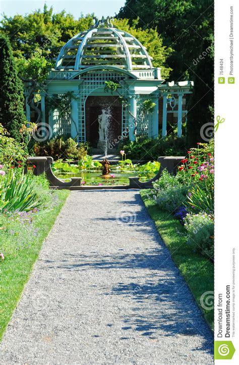 Grecian Garden by Grecian Garden Stock Images Image 7548434
