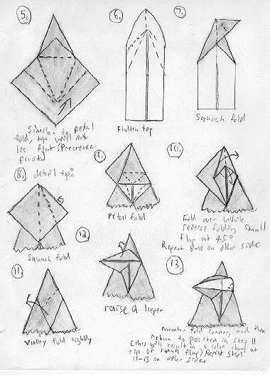 origami magic diagram pdf free origami diagrams learn how to make