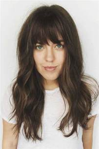 must see bangs on long long hairstyles 2016 2017