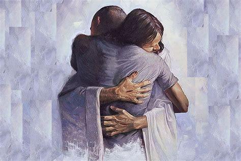 imagenes de jesucristo dando un abrazo lleg 243 al cielo y seres espirituales le dijeron que no