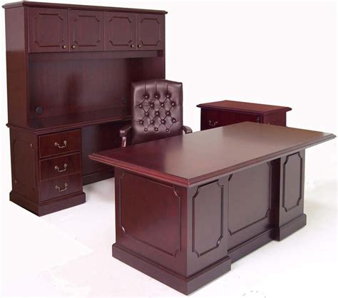 in stock traditional cherry office furniture in stock