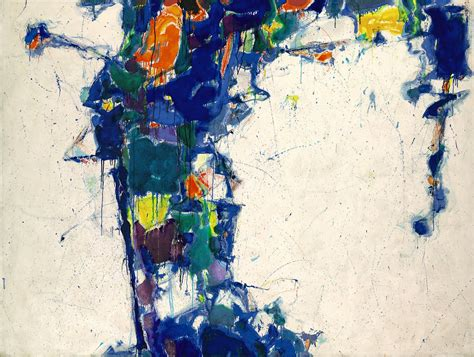 painting all sam francis middle blue modern design by moderndesign org