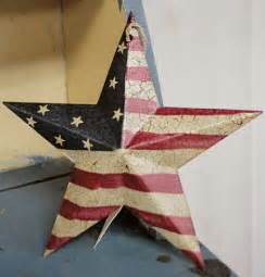 Metal Star Home Decor Primitive Americana Barn Star Wall Decor Home Decor