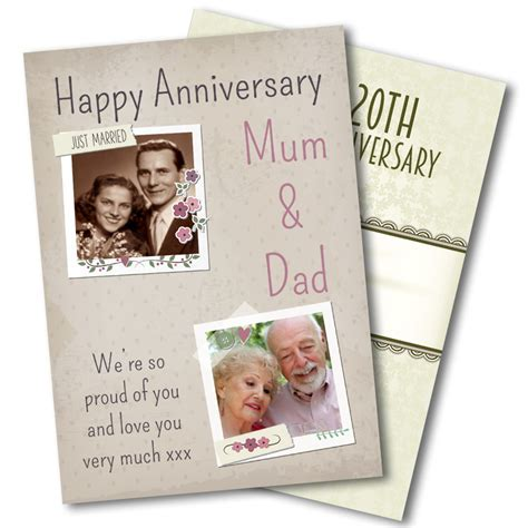 Anniversary Cards   Funky Hampers