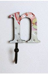 letter hooks for bathroom letter hook letter hooks pinterest hooks and letters