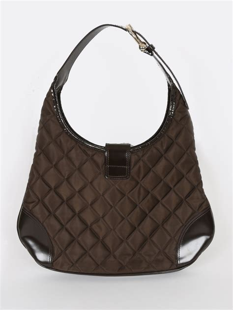 Burberry Quilted Bag by Burberry Brown Quilted Hobo Bag Luxury Bags