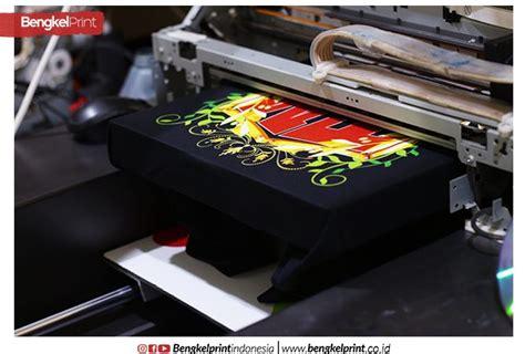 Printer Dtg Kaos Hitam 20 langkah sablon kaos hitam pisah warna dengan printer dtg mesin dtg printer dtg surabaya