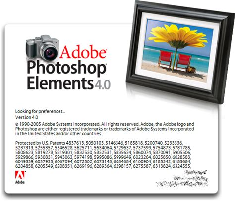 Tutorial Adobe Photoshop Elements 4 0 | guidebook gt splashes gt photoshop elements
