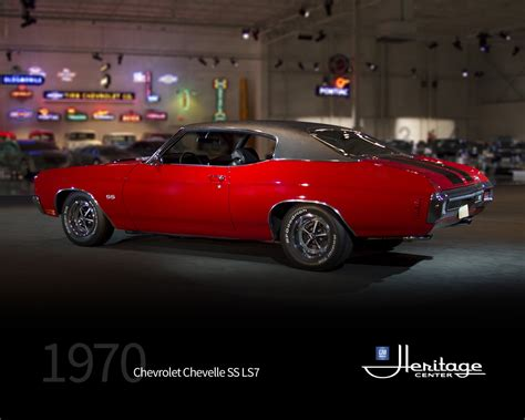 1970 Chevelle Ss Engines by Gm Heritage Center Collection 1970 Chevrolet Chevelle Ss Ls7