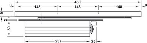 Overhead Door Closer Dcl 33 Concealed En 2 4 Startec Overhead Door Closer Adjustment