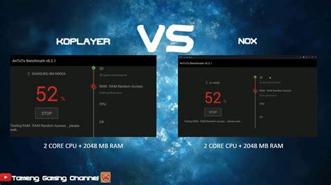 bluestacks or nox duel emulator android koplayer vs nox siapakah