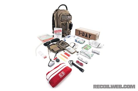 echo sigma emergency get home bag ghb recoil magazine