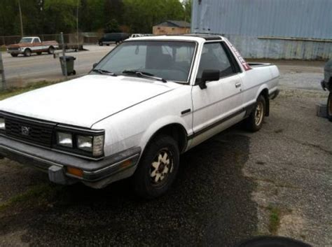 subaru brat for sale craigslist 1984 86 subaru brat project for sale in walhalla sc