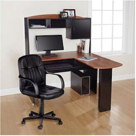 Modern L Shaped Office Computer Workstation Organizer Cheap Corner Desk With Hutch