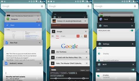 android multitasking android 5 0 lollipop thoroughly reviewed ars technica